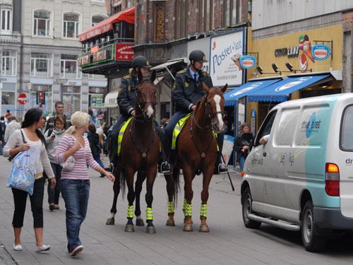 Til hest på job i København