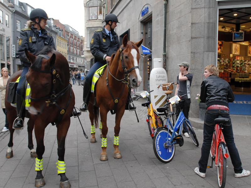 København mister deres ridende politi